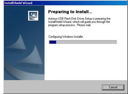Image Of InstallShield Wizard Dialog Box