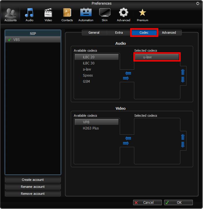 Vonage Business Cloud   Answer   Zoiper 3 Softphone