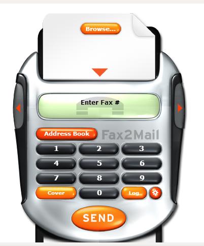 vonage fax machine